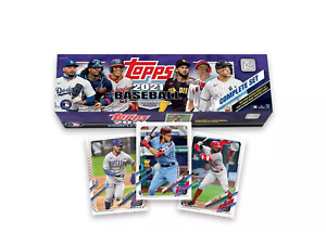 2021 Topps MLB Baseball Trading Card Complete Factory Set - Target Exclusive