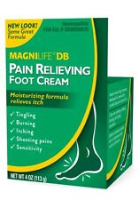 Magnilife DB Pain Relieving Foot Cream, 4 oz
