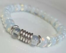 Moonstone beads & Links Of London sterling silver Bracelet  small- medium