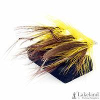 3x, 6x or 12x Leggy Golden Dabbler Wet Trout Flies for Fly Fishing