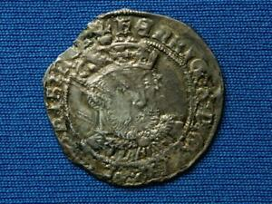 Henry VIII Groat - 3rd coinage - Bust C - York mint - no mm