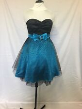 Ever Pretty special occasion dress blue and black size 10