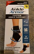 New Ankle Armor Custom Ankle  Support  Compression Comfort