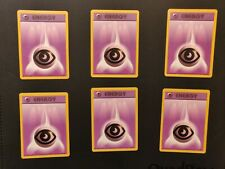 6 x Psychic Energy Pokemon Card Base Set 101/102 Conditions Vary PLEASE READ