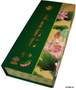 Exotic Floral Lotus Goddess Jin Wan Lai Fine Temple Incense Boxed 625 sticks