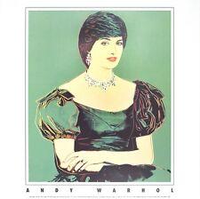 Princess Diana, 1982 by Andy Warhol Art Print Lady Di Poster Out of Print 25x25