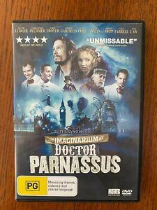 The Imaginarium Of Doctor Parnassus DVD Region 4 LIKE NEW Heath Ledger