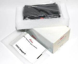 LEICA 14403 WINDER - M für Leica M6, M4-2, M4-P - Unbenutzt aus Sammlung  OVP