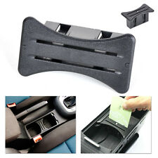 Car Card Cup Holder Coin Slot Centre Console For VW MK6 Golf GTI R20 2008-2012