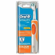 Braun Oral-B Vitality CrossAction 2D Electric Toothbrush Rechargeable - Orange