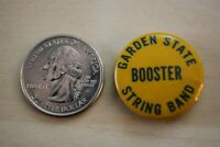 Garden State String Band Booster New Jersey Pin Pinback Button #28412