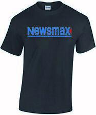 Newsmax shirt t-shirt clothing tv media now gop republican news cnn sucks fake n