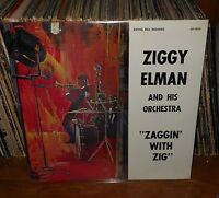 "ZIGGY ELMAN-""Zaggin' With Zig"" LP, Still Sealed Record, Mint Lp/Mint Jacket"