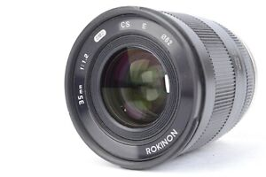 Rokinon 35mm f/1.2 UMC CS for Sony E-mount Lens AUCTION - #SF9603