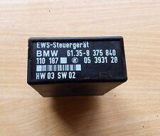 BMW E36/E39 EWS-steuergerät 61.35-8375840 control unit EWS