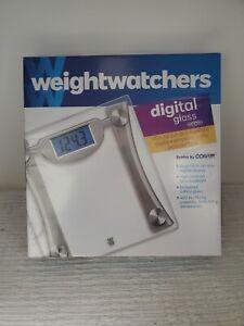 Weight Watchers Digital Glass Scale by Conair Model WW400 Brand New Sealed