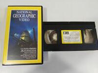 LA FLOTA PERDIDA DE GUADALCANAL - VHS TAPE CINTA NATIONAL GEOGRAPHIC