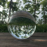 60mm Crystal Ball Lens Photography Clear Glass Healing Sphere Photo Prop Decor