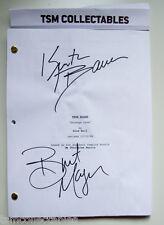 TRUE BLOOD autographed SCRIPT Kristin BAUER Brit MORGAN signed auto'd vampires