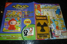 SIMPSONS COMICS - Vol 1 - No 176 - Date 10/2010 - Bongo Comic With FREE GIFT