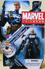 NEW MARVEL COMICS - MARVEL UNIVERSE STEVE ROGERS CAPTAIN AMERICA Figure Series 3