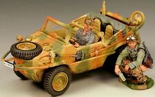 KING & COUNTRY WW2 GERMAN ARMY WS109 SCHWIMMWAGEN SUMMER MIB