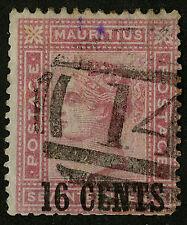 Mauritius  1883   Scott # 76    USED