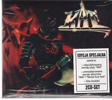 KAT 666 METAL AND HELL 2CD NEW SEALED LIMITED 25 ANNIVERSARY EDITION KOSTRZEWSKI