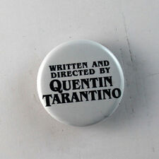 "QUENTIN TARANTINO movies 1.25"" button badge pin shirt Buy 2 Get 1 Free"