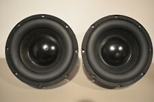 """New listing Pair of Cambridge SoundWorks Newton P500 Subwoofer Speakers 8"""" 500w A80430-04Rb"""