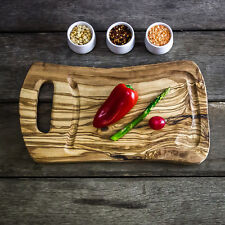 Rustic Dual-Sided Wooden Chopping / Steak Board with Jus Groove 35cm (F2PNA35)