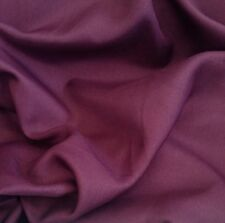 Aubergine Springfield Canvas Weave Curtain & Interior Fabric Material Per Metre