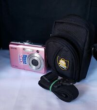 Sanyo VPC-S500 Pink Excellent Condition Digital Camera Bundle - Clear Pictures