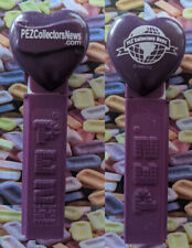PEZ Collectors News- logo printed heart dispenser