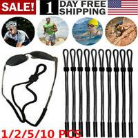 US! 1/2/5/10 Neck Strap Sport Sunglass Eyeglass Read Glasses Cord Lanyard Holder