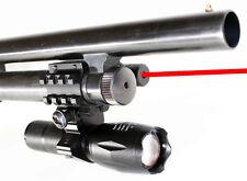 TRINITY 1000 lumens 3Watt LED Flashlight With Red Laser Kit For Mossberg 590A1