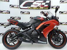 2012-16 Kawasaki Ninja 650 Full Exhaust Muffler CS Racing Thick Deep Sound