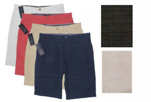 NWT! Tommy Hilfiger Men's Classic Fit Flat Front Shorts S25