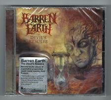 BARREN EARTH - THE DEVIL'S RESOLVE - 8 TRACKS - 2012 - NEUF NEW NEU