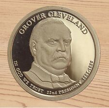 2012-S Grover Cleveland 1st Term Presidential Dollar Frosty Cameo From Proof Set