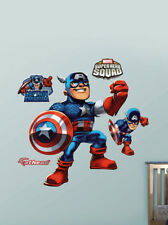 Fathead Super Hero Squad Captain America Marvel Comics Wall Decor New 96-96061