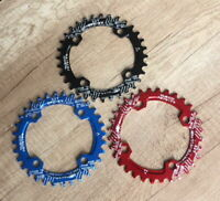 SNAIL BCD 96mm 32 34 36T MTB Bike Single Narrow Wide Oval Chainring Chain Ring