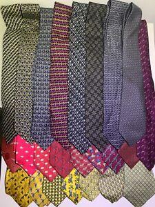 Mens Hermes Paris Silk Neck Ties - Assorted Colors