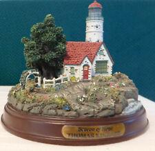 Thomas Kinkade - Beacon Of Hope Lighted Figurine Cottage Lighthouse