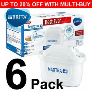 6 x BRITA Maxtra+ Plus Water Filter Jug Replacement Cartridges Refills UK Pack