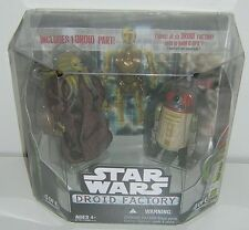 Star Wars Droid Factory 2 Pack Kit Fisto & R4-H5 Legacy Walmart Exclusive