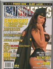 MuscleMag bodybuilding fitness SWIMSUIT magazine/ Dana Hamm 5-03 #251