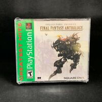 Final Fantasy Anthology [Greatest Hits] (PlayStation 1/PSX / PS1) Brand New