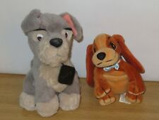 Lady & Scamp Soft Plush toys from Disney Lady and the Tramp