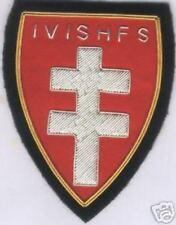 Medieval Knight Catholic Saint St George Hungary Cross Vitez Patch Appliqué War